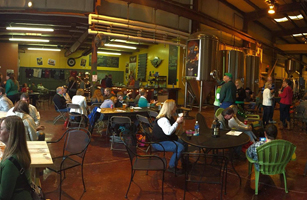 Flying Mouse Brewery tasting room