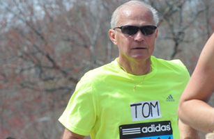 Picture of Tom Visotsky running
