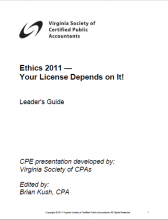 2011 Ethics cover