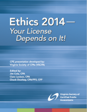 2014 Ethics cover